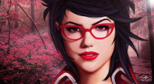 theriotleague:  Real Life Heart seeker Vayne by ~maohwolf
