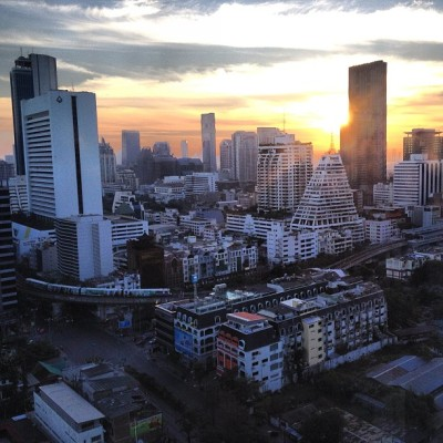 Good morning BKK! (at Pullman Bangkok Hotel G)