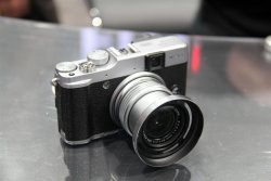 The Fuji X20 - digital cameras don't get much more old-timey cute than this