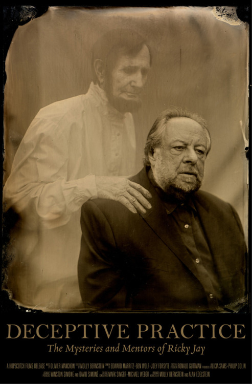 laughingsquid:  Deceptive Practice: The Mysteries & Mentors of Ricky Jay, A Documentary About Magician Ricky Jay  I love Ricky Jay and look forward to seeing this documentary about him.