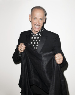 terrysdiary:  John Waters at my studio #5