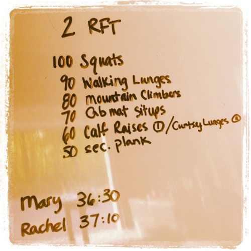 unofficiallycrossfitbanks:  Too. Tired. To. Blog. So. Sore.
