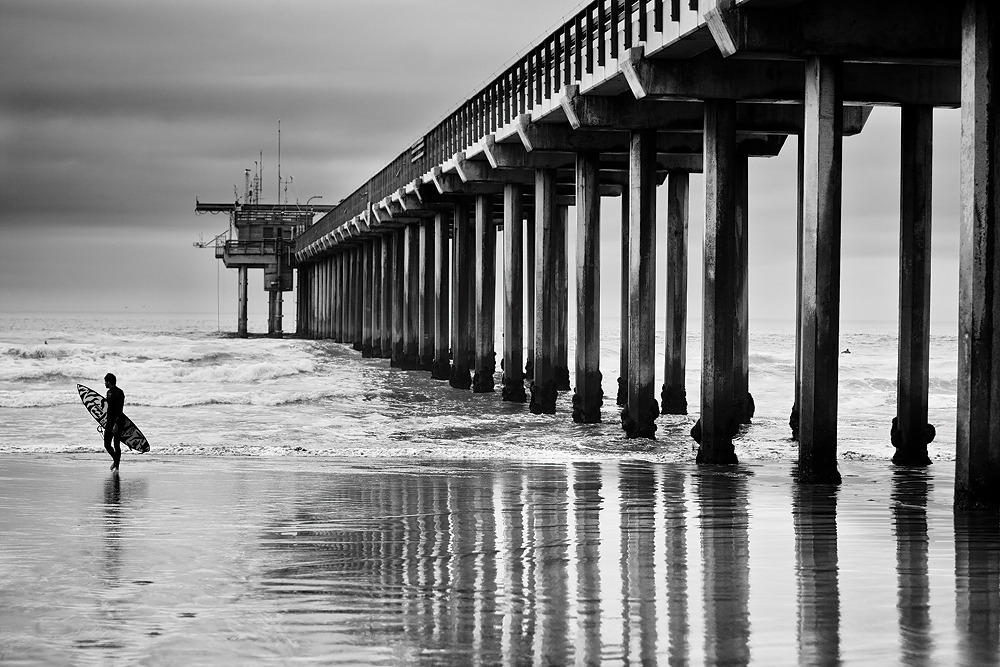 sterling spencer, scripps pier.