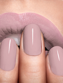 totallytransparent:  Semi Transparent Lips & Nails (changes colour with your blog background - drag it!)Made by Totally Transparent