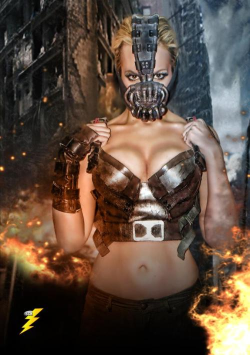 When Gotham is ashes… Rule 63 Bane Cosplayer: Nicole Marie Jean Facebook     Tumblr Photo by SGH Photo Art
