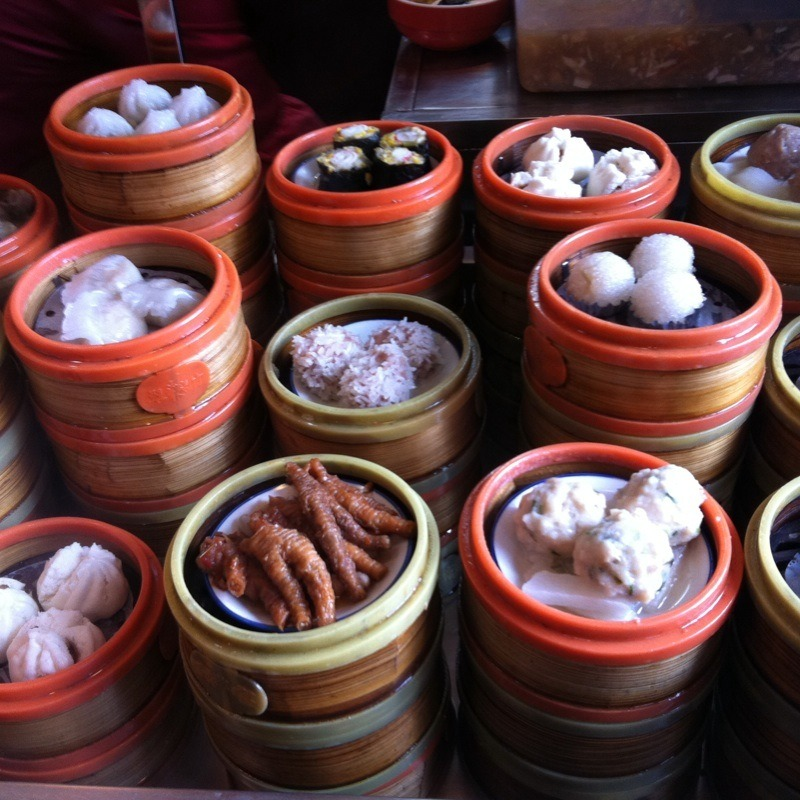 You go out to dim sum with a bunch of friends.  There are so many things to pick from—but what's the one thing that you MUST order?