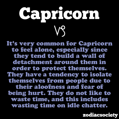 zodiacsociety:  Capricorn Facts