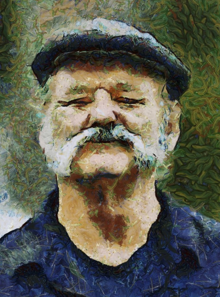 Van Gogh's Bill Murray by Poda Viktor