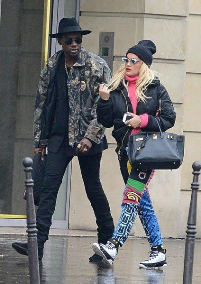 Rita Ora+ Theophilus Londonin Paris on Wednesday…