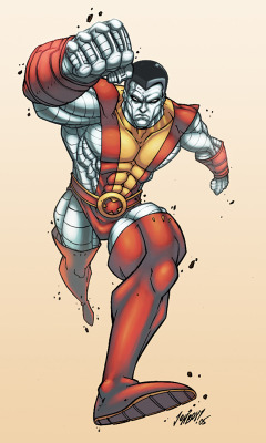 Colossus by *logicfun —-x—- More: | Marvel | Random |
