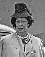 """As part of RWHP's US Women's History Month mission, we'll be featuring a photo and profile of an individual radical woman of history each day of the month. Lucy Hicks Anderson was born in Waddy, Kentucky, USA in 1886. When she entered school, she insisted on wearing dresses and calling herself Lucy. Since the term transgender hadn't been invented yet, when Lucy's mother took her to the doctor for an explanation of her strange behavior, the physician encouraged her to raise Lucy as a girl and not a boy.  Lucy left school when she was 15 to be a maid. In 1944 she married a soldier in California, which led to troubles. When the government found out that Lucy had been born male, she was prosecuted for receiving checks as a wife of a US Army soldier.  """"I defy any doctor in the world to prove that I am not a woman,"""" Anderson told reporters in the midst of her trial. """"I have lived, dressed, acted just what I am, a woman."""" Both Lucy and her husband were sent to prison. Once free, Lucy moved to Los Angeles where she lived until she died in 1954. Source: TransGriot"""