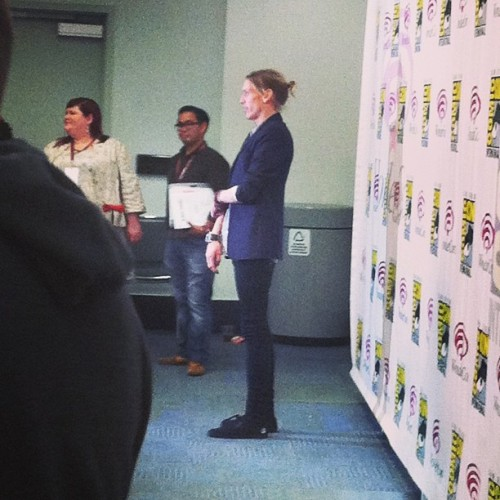 jaceandclarycom:  Jamie Campbell Bower at WonderCon 2013