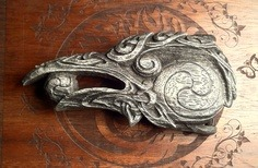 ~* Raven Head Belt Buckle *~