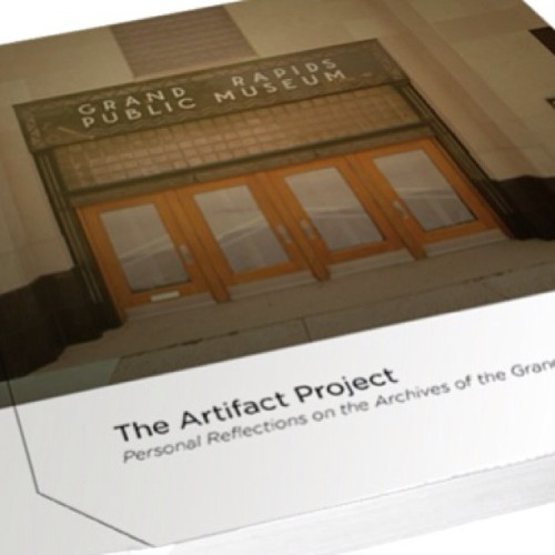 Book orders will start being taken this Friday  for the ArtifactGR book! $40 softcover $50 hardcover.  (at SiTE:LAB @ 54 Jefferson | Artprize)