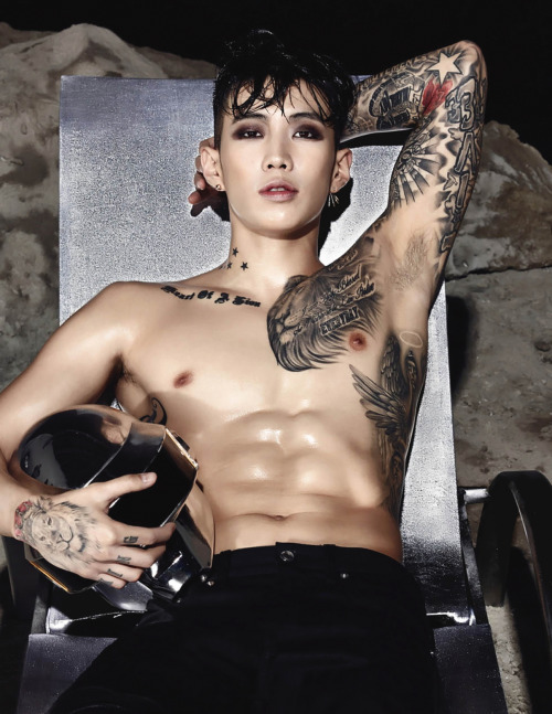Phenomenal Fashion Model Body Tattoos Tattoo Asian Kpop Jay Park Asian Short Hairstyles Gunalazisus