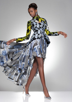 Parade of Charm Leomie Anderson for Vlisco Spring/Summer 2013
