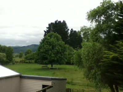 Tararua Ranges in distance …. Shame about my boat shed in the foreground!   submit your own morning window pic: http://thelearningbrain.tumblr.com/submit See the other Morning Windows: http://thelearningbrain.tumblr.com/tagged/MorningWindow