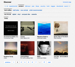 """Leaving Winter"" is currently nr. 14 on Bandcamp's best selling Ambient albums. I'd love to thank everybody supporting and even just listening to this new music. thank you. the volume settings folder."