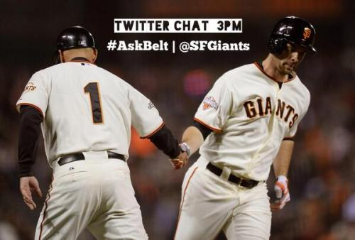 Got a question for @BBelt9? He's here to answer it today at 3pm - #AskBelt pic.twitter.com/E8ddU2Zg0O