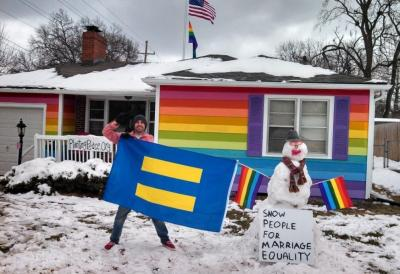 best-of-imgur:  So, that house across the street from Westboro Baptist Church got some snow…http://best-of-imgur.tumblr.com