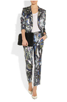 On my mind: Theyskens' Theory printed suit