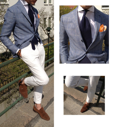 alexandfaust:  Alex Fashion Tutorial: Sprezzatura during Spring