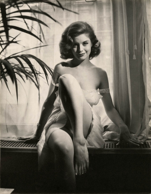hoodoothatvoodoo:  Peter Basch 'Jody Foster' (Pin up Model) 1950s
