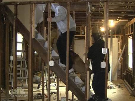 Family in Sandy-damaged home suffers in deep freeze: 'This is being exposed outdoors' (Photo: NBC Nightly News) STATEN ISLAND, N.Y. — Dee and Scott McGrath were huddled under two blankets, both wearing hooded sweatshirts and pants, with an electric heater by their bed. Dee heard her daughter coughing through the night from the room next door and feared she was getting sick. Read the complete story.