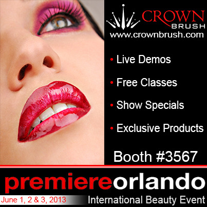 "Are you attending Orlando Premiere?Make sure you stop by Crown Brush Booth #3567 and check out the Live Demos from Face Off's Nix Herrera, Derek Garcia, and Eric Garcia!!! FREE Education all weekend with:James Vincent (The Makeup Show Artist)Orlando Santiago (The Makeup Show Artist)Nix Herrera (""Face Off"" Season 2)Derek Garcia (""Face Off"" Season 3)Eric Garcia (""Face Off"" Season 3)"