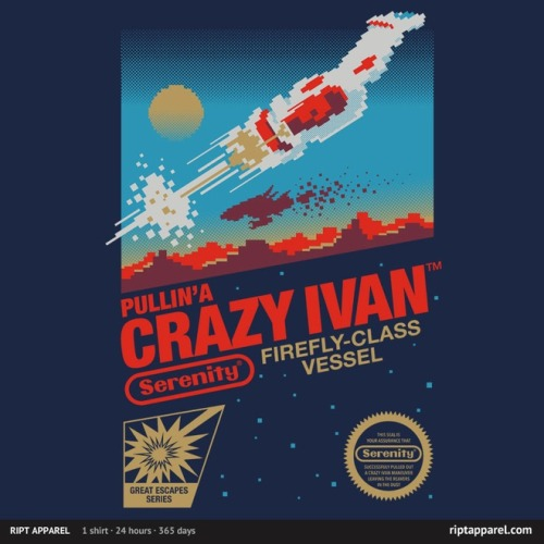 'Crazy Ivan' ~ by victorsbeard