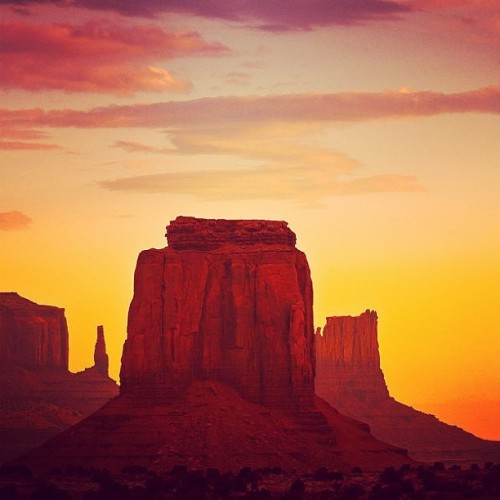 Our first #instagram #photo of #MonumenValley #picoftheday #photooftheday #beautiful #rock #mountain #sunset