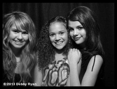 Me @madisonpettis @selenagomez.  #ThrowbackThursdayView more Debby Ryan on WhoSay