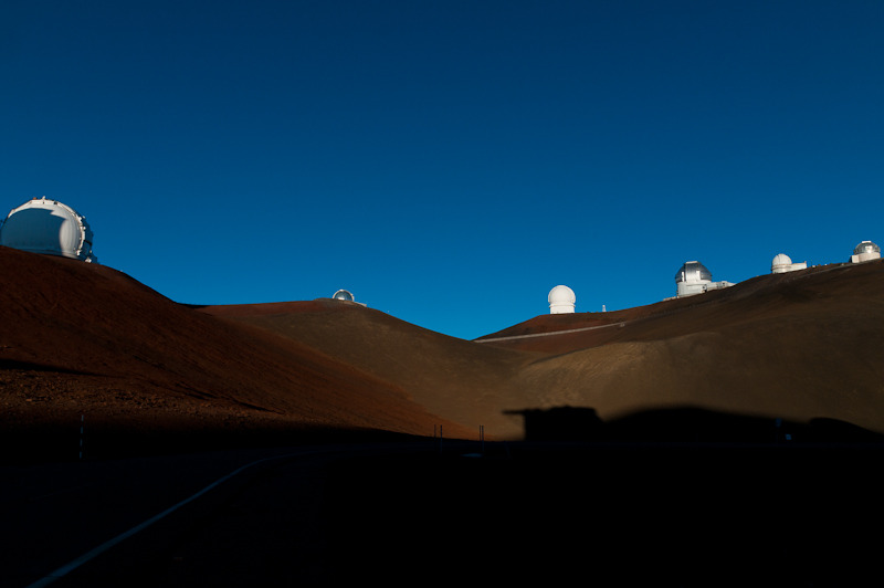 Mauna Kea astronomical observatories