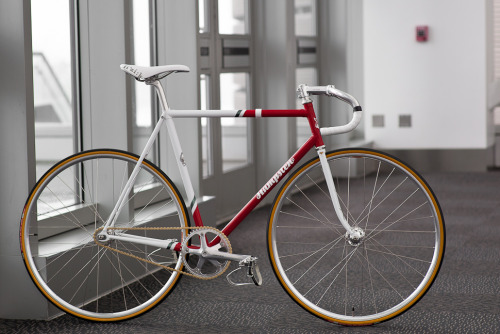 "ridetheblackline:   NAHBS: HAMPSTEN-ELEVEN Okay one more gem from last weekend's NAHBS. This beautiful homage to the famous 7-Eleven team bikes was built by Hampsten Cycles. A gorgeous bicycle photographed perfectly by John ""Prolly"" Watson. Catch more eye-popping details HERE."