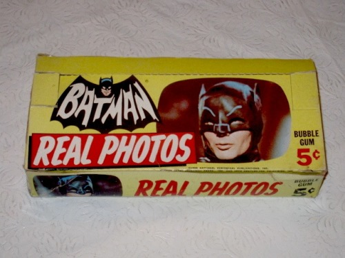"Batman Gum Card Display Box (""Bat Laffs"" series, 1966)"