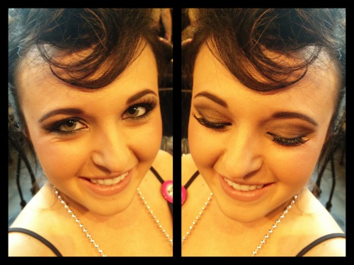 Bachelorette party makeup by Derick Cich, Duluth, Minnesota.  Product listing found here.