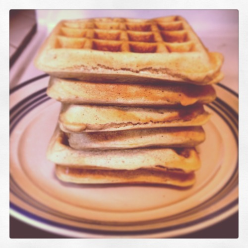 Waffles are happiness.