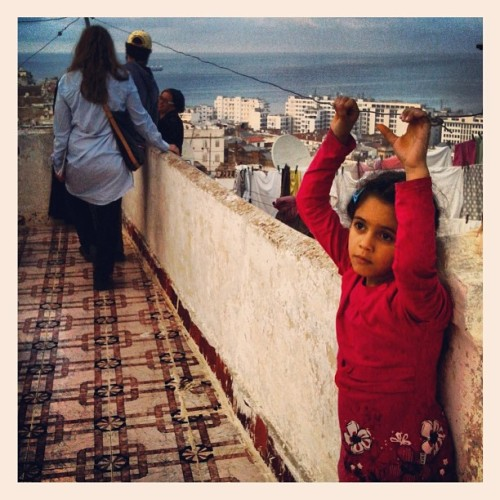 Daydreaming on a Kasbah rooftop in Algiers, Algeria in April 2013. Photo by @lindsay_mackenzie   #Kasbah #algeria #algiers