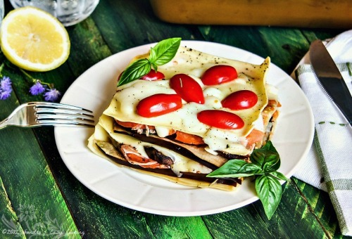 Veggie Summer Lasagna by Sandra's Easy Cooking