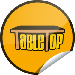 I just unlocked the TableTop First Check-in sticker on GetGlue                      3097 others have also unlocked the TableTop First Check-in sticker on GetGlue.com                  Actor, writer and geek icon Wil Wheaton hosts TableTop, a fast-paced show about tabletop gaming. Thanks for checking out TableTop. Continue to tune in and check-in to unlock even more stickers.  Share this one proudly. It's from our friends at Geek and Sundry.