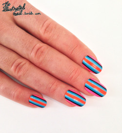 Sneaky peak at one of the steps for the next @ScratchMagazine Nail Undergound tutorial…