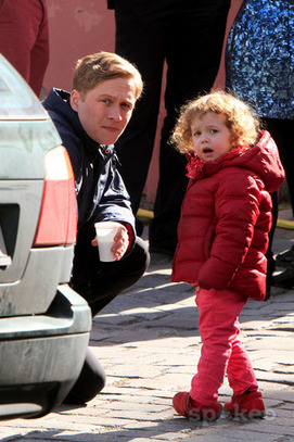 Photo of Matthias Schweighöfer  & his  Daughter  Greta Schweighöfer