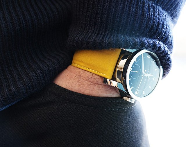goodgreatexceptional:  allaboutmenswear:  A hint of yellow is what we need  Love yellow!
