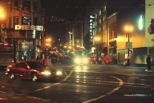 City Life Down Town SF. Pic taken by Me.