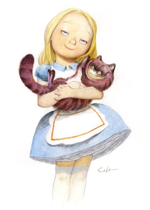 senzanessuntitolo:  Alice in wonderland  Adorable!