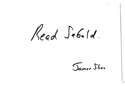 Postcard of advice to a young poet, via James Shea