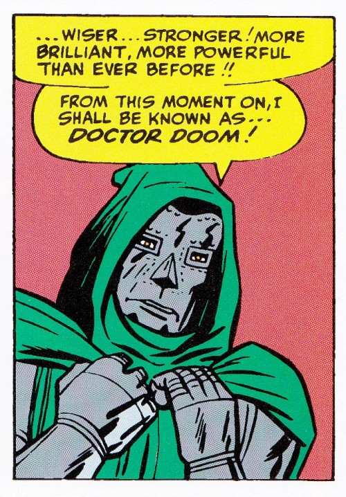 infinity-comics:  Doctor Doom by Jack Kirby