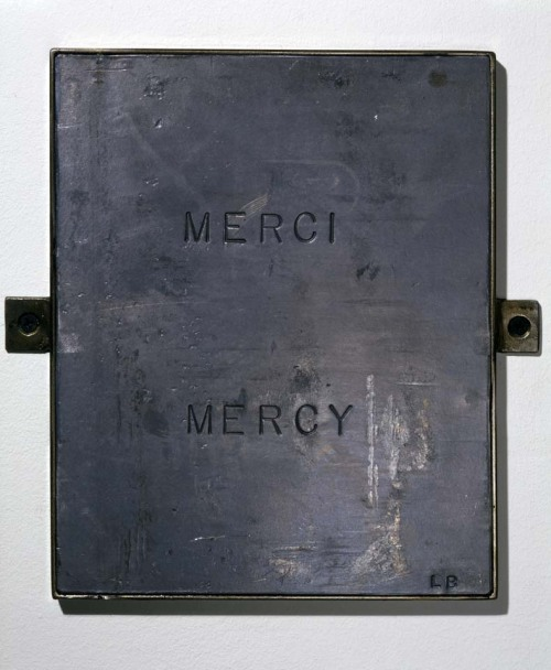Merci Mercy. Louise Bourgeois | 1999.