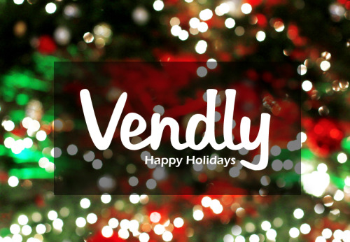 Happy Holidays from the Vendly Team!