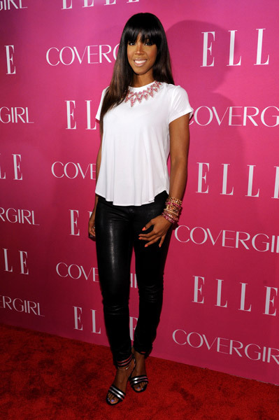 Kelly Rowland looking lovely at Elle Women in Music Event.